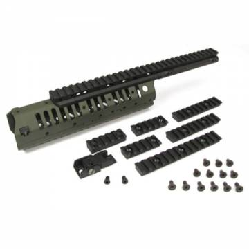 King Arms VLTOR CASV-M Mid Length Handguard Set - OD