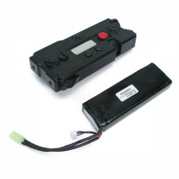 King Arms AN/PEQ-7 Battery Case+11.1v LiPo 3300mAh