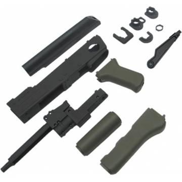 King Arms AK47S Metal Body Deluxe Set A - OD