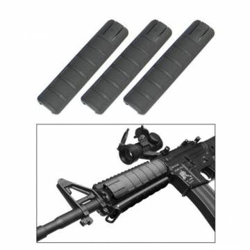 King Arms Rail Cover - 156mm / Black