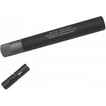 King Arms M14 DC QD Silencer with Flash Hider Ver.2