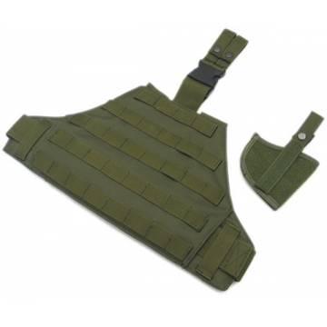 King Arms MPS DA Conceal Holster Leg Latform - OD