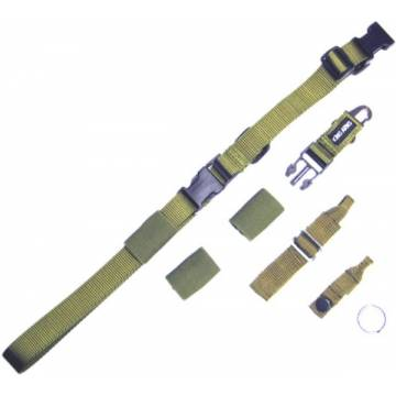 King Arms Tactical Single Point Sling - OD