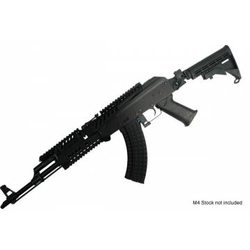 King Arms AK Tactical Folding Stock - DE