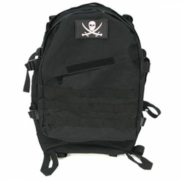 King Arms MPS Reconnaissance Backpack - BK w/patch
