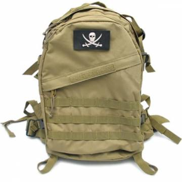 King Arms MPS Reconnaissance Backpack - TAN w/SEAL patch