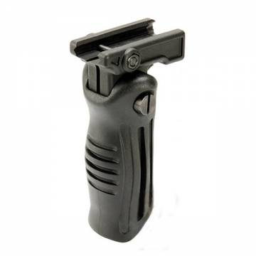 Folding Tactical Grip - Black