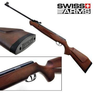 Swiss Arms SA2 Break Barrel Rifle 10J (Wood Ver)