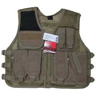 Tactical Vest (TAN - one size)
