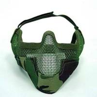 Black Bear Raider Mesh Mask (Woodland)