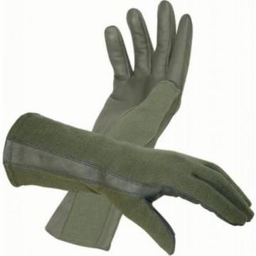 Nomex Pilot Gloves - Olive