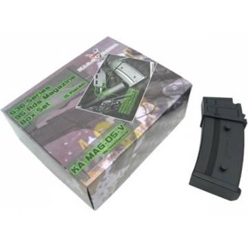 King Arms G36 95 Rds Mag. Box Set (5pcs)