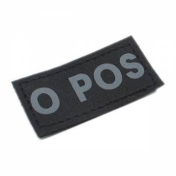 King Arms Small Blood Type Patch - O