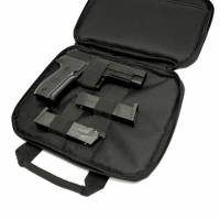 Swiss Arms Pistol Case 2 pistols (Black)