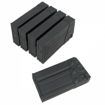 King Arms G3 70Rds Mag Box Set (5pcs) - Metal