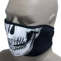 Half Face Neoprene Skull Mask