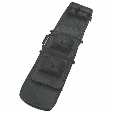 Dual Rifle Carrying Case Gun Bag 120cm - Black