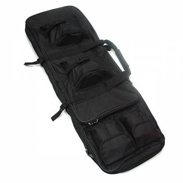 Dual Rifle Carrying Case Gun Bag 85cm - Black