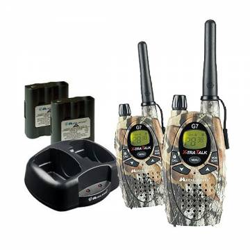 Midland G7 XT Dual Band Mimetic Set + 2 Battery Pack