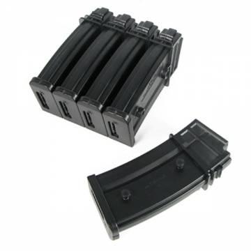 King Arms G36 470 Rds Magazine Box Set (5pcs)