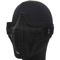 TMC Strike Steel Half Face Mask - Black
