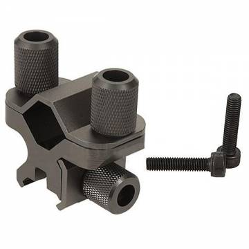Element Big Thumb Screw Flashlight Mount (Titanium)