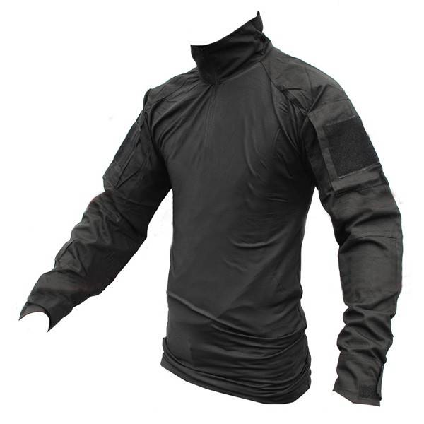 the gallery for gt black tactical shirt