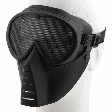 Grid Airsoft Mask - Black