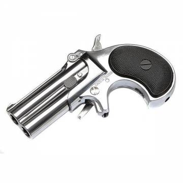 Marushin Derringer 6mm Double Barrel (Silver)
