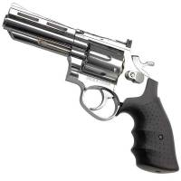 HFC 4 inch Gas Revolver Chrome - Metal