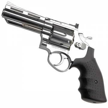 HFC 4 inch Gas Revolver Chrome - Metal