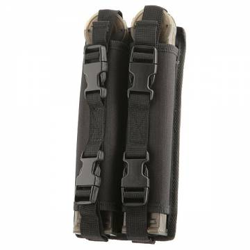 Swiss Arms Molle Double Mag Pouch for P90 - Black