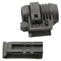 A.P.S. Flashlight Mount Quick Release - Black