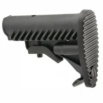 A.P.S. Battle Tele Style Stock for M4/M16 (Black)