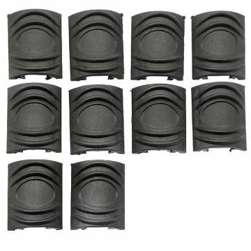 Element TDI Rail Cover Short 10pcs (Black)