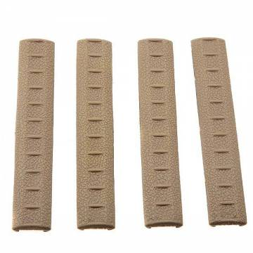 A.P.S KAC Rubber Rail Covers 4pcs - DEB