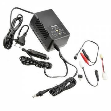 Charger - Discharger 2000mA 12-220 Volt