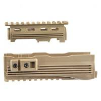 A.P.S Railed Handguard for AK Series - DE