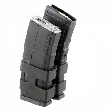 Double Electric P-Mag for M4/Masada 1000rds (Black)