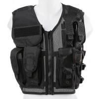 Tactical Vest (Black-one size)