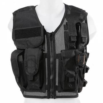 Recon Tactical Vest (One Size) Black