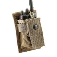 Tactical Molle Radio Pouch - Khaki