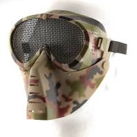 Grid Airsoft Mask - Camo