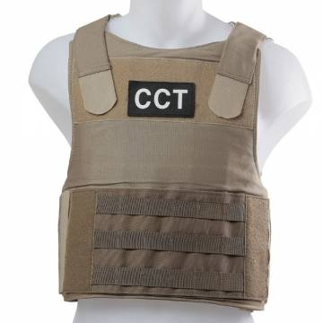 King Arms SF Personal Body Armor CCT Patch (TAN)