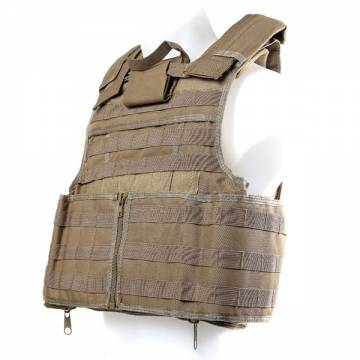 Paraclete RAV Body Armor Tactical Vest - Coyote Tan