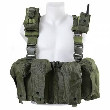 Swiss Arms Modular Front Split Combat Vest - OD