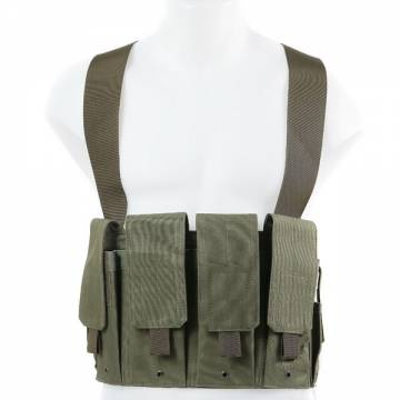 King Arms 5.56 Chest Rig - Olive Drab