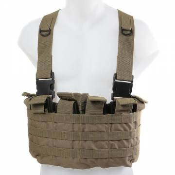 King Arms MPS Utility Chest Rig - TAN