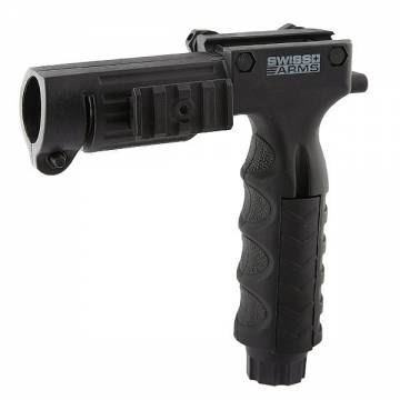 Swiss Arms Vertical Grip w/ Intergrated Flashlight Mount