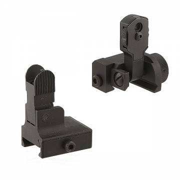 King Arms Flip-up Sight Set for 20mm Rail
